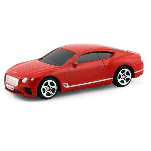 Легковой автомобиль RMZ City The Bentley Continental GT 2018 (344035S) 1:64, красный