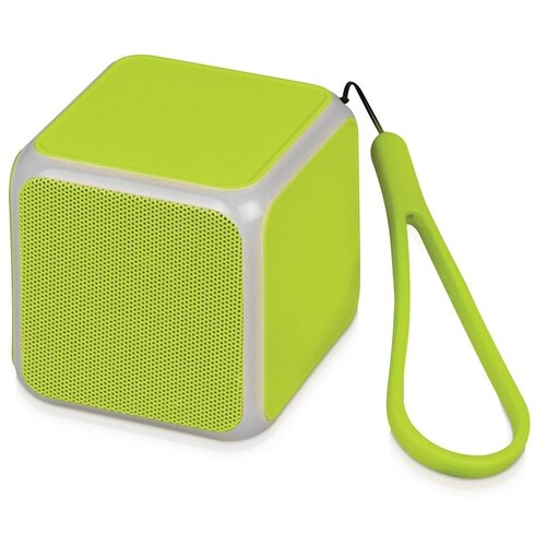Портативная акустика Oasis CUBE, зеленое яблоко портативная акустика oasis bermuda голубой