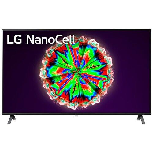 Телевизор NanoCell LG 65NANO806 65 (2020), черный телевизор nanocell lg 65nano806 65 2020