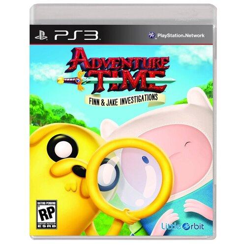 Игра для PlayStation 3 Adventure Time: Finn and Jake Investigations, английский язык фото