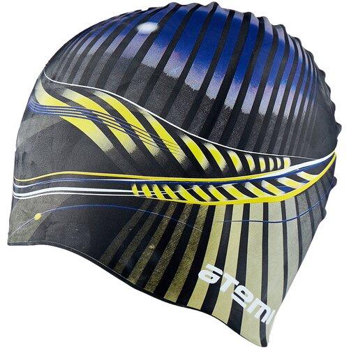 Фото - Шапочка для плавания ATEMI PSC422, черный аксессуары для плавания atemi шапочка для плавания графика psc422