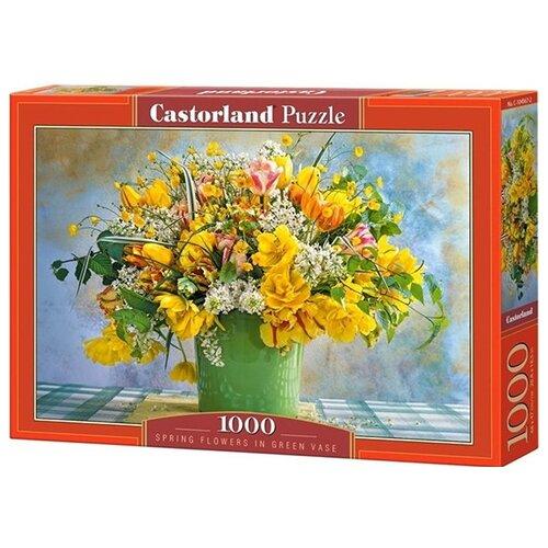 Пазл Castorland Желтые тюльпаны, 1000 эл. 4567/C104567 пазл castorland 1000 эл сердце лондона 41664