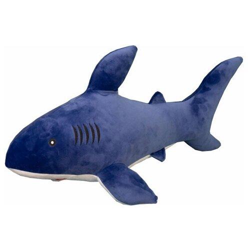 Мягкая игрушка ТОМАТО акула синяя 50см.
