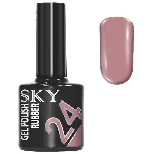 Купить Гель-лак для ногтей SKY Gel Polish Rubber, 10 мл, 24