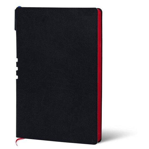 Купить Набор LOREX LXDRA5-CL, искусственная кожа, А5, 128 листов, черный/красный, Ежедневники, записные книжки