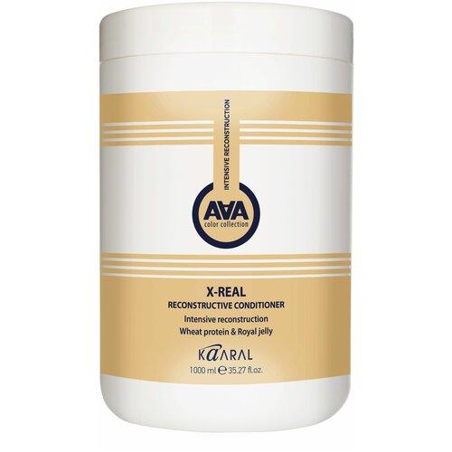 Купить Kaaral кондиционер AAA X-Real Reconstructive с пшеничными протеинами, 1000 мл