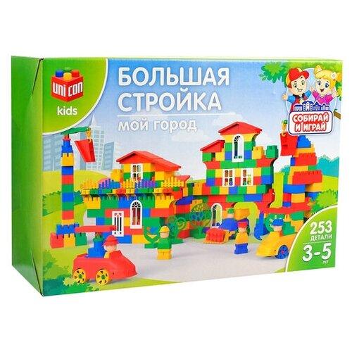 Конструктор UNICON Мой город 3142420 №42 Большая стройка