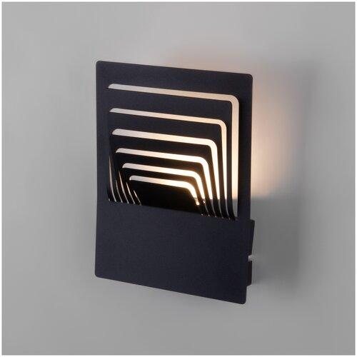 Интерьерная подсветка Elektrostandard Onda LED чёрный (MRL LED 1024)