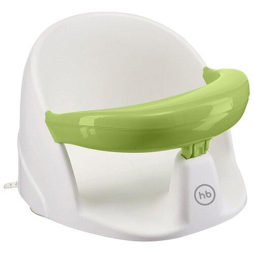 коврики для купания happy baby для купания sea life 34010 Стул для купания Happy Baby Favorite 34015 белый/зеленый
