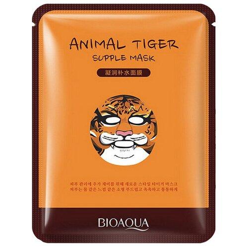 BioAqua Питательная тканевая маска для лица Animal Face Tiger, 30 г недорого