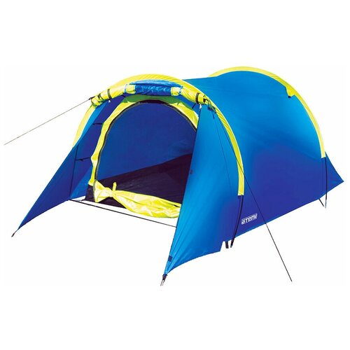 Фото - Палатка ATEMI TONGA 2TX синий/желтый палатка jian hong замок принца 200280835 синий желтый