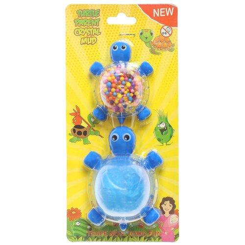 Набор для творчества «Слим черепашка с шариками своими руками», цвет синий
