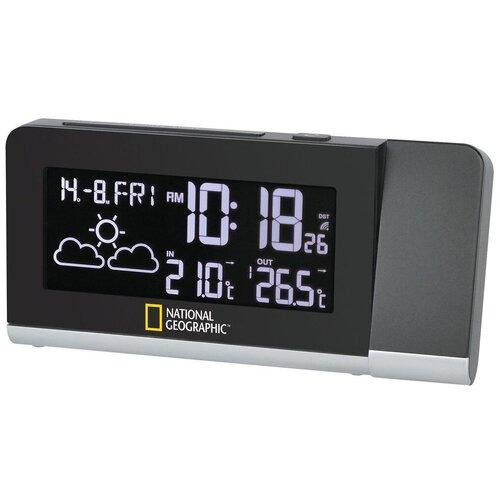 Часы с термометром BRESSER National Geographic (9070400) черный