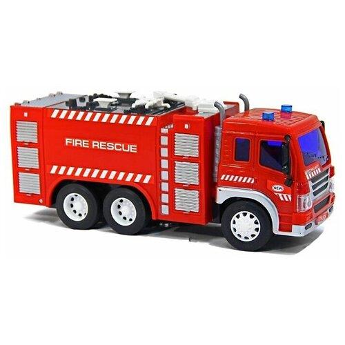 Купить Машина Drift р/у грузовик-пожарная автоцистерна, свет, 34613 26*10*14, 5см, Радиоуправляемые игрушки