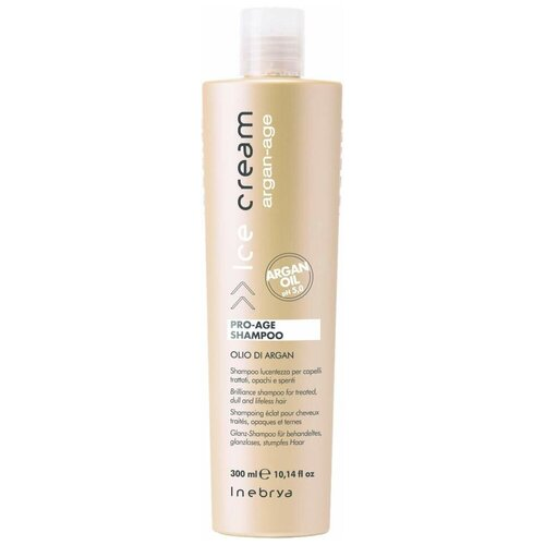 Купить INEBRYA шампунь для волос Ice-Cream Argan-age Pro-Age, 300 мл