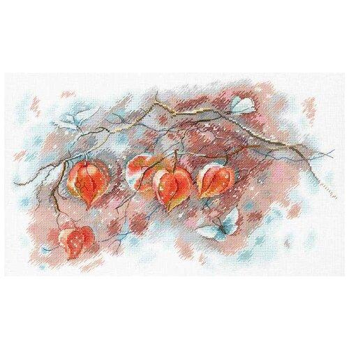 Aquarelle by M.P. Studia Набор для вышивания Осенние фонарики 21 х 35 см (А-016)