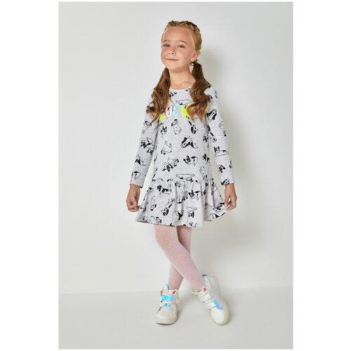Купить Платье для девочек размер 104, серый, ТМ Acoola, арт. 20220200534, Платья и сарафаны