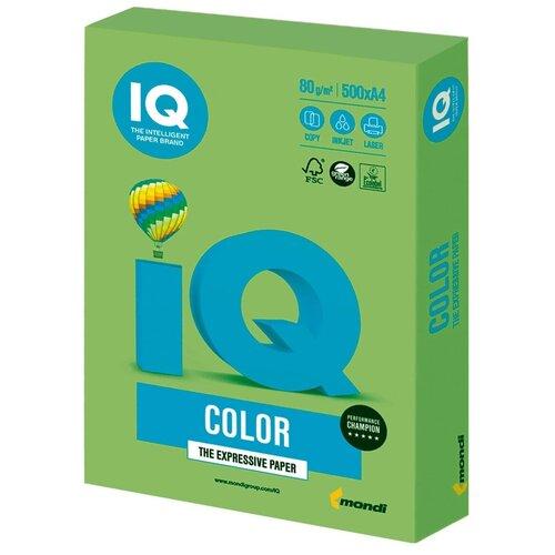 Фото - Бумага IQ Color A4 80 г/м² 500 лист., зеленая липа LG46 запарник для бани липа 12 л