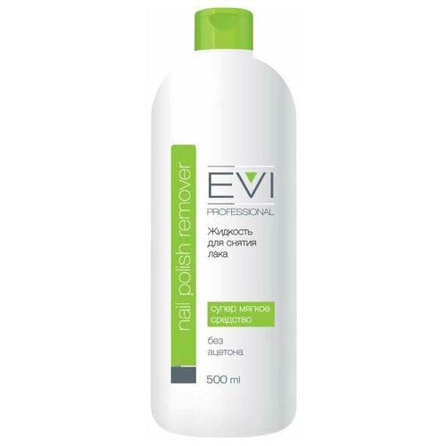 Купить EVI professional Жидкость для снятия лака без ацетона 500 мл