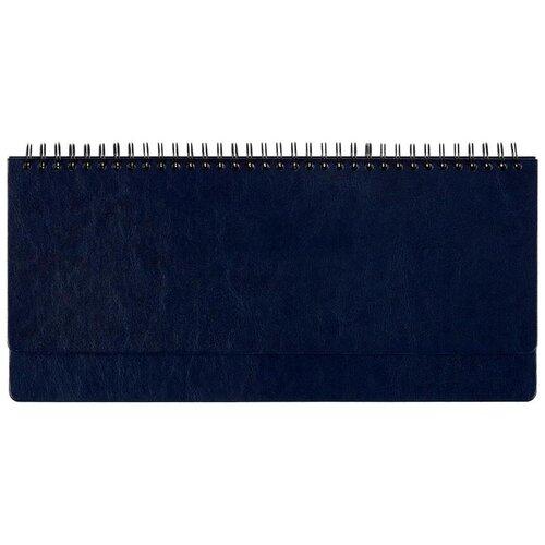 Фото - Планинг Attache Agenda полудатированный, искусственная кожа, 60 листов, синий планинг attache 129427 недатированный 53 листов синий