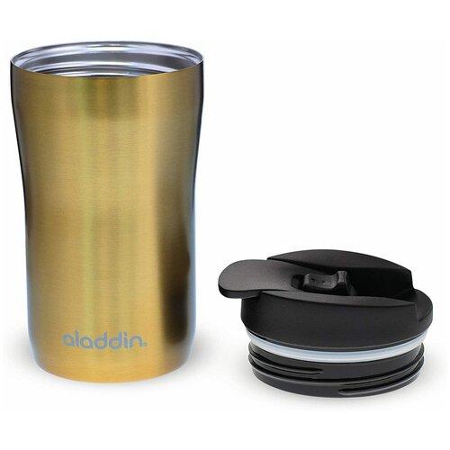 Кружка из нержавеющей стали, ALADDIN, Latte, 0,25л, золотая