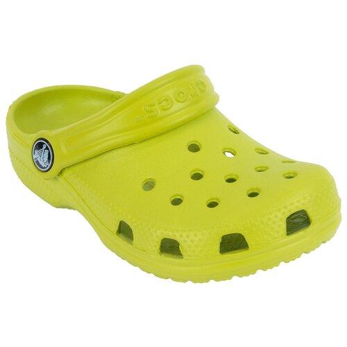 Сабо Crocs размер 23-24(С6/C7), салатовый