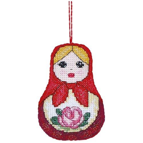 Купить Набор для вышивания крестиком PANNA Игрушка, Матрешка (IG-1186), Наборы для вышивания