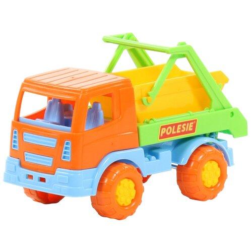грузовик полесье 1657 41 см Грузовик Полесье коммунальный Тёма, 15.5 см