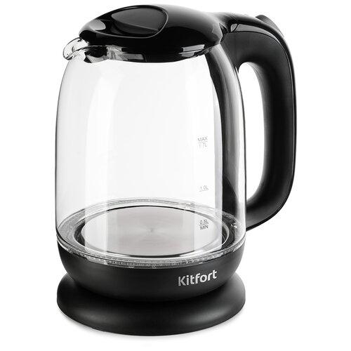 Чайник Kitfort KT-625-6, черный