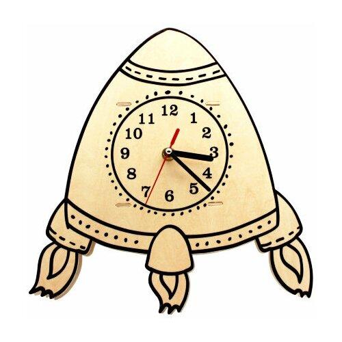 Robotime Набор для росписи Часы-конструктор Ракета-раскраска (AC229P)