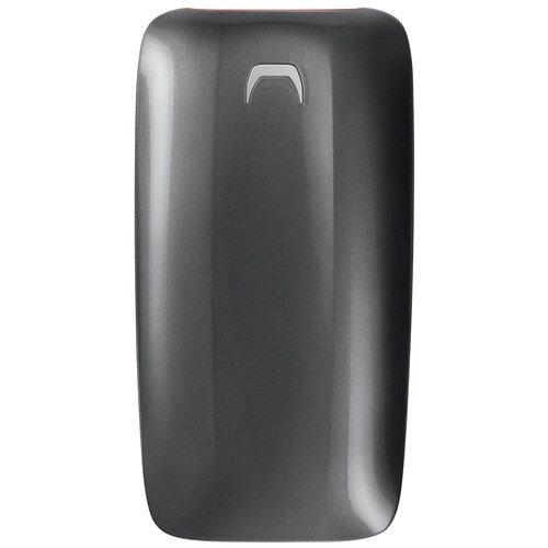 Фото - Внешний SSD Samsung X5 500 GB, серый внешний ssd hp p500 500gb 7pd54aa 500 gb синий
