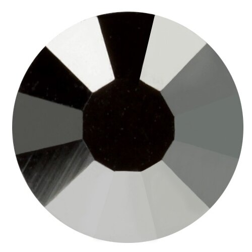 Купить Стразы клеевые PRECIOSA Crystal AB, 3, 9 мм, стекло, 144 шт, в пакете, темный серый (438-11-612 i), Фурнитура для украшений
