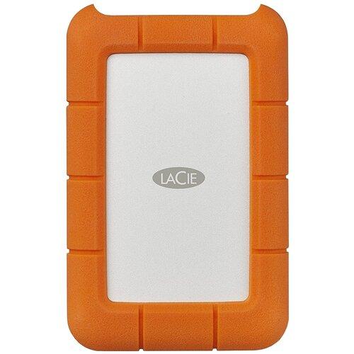 Фото - Внешний HDD Lacie Rugged USB-C 7200 rpm 1 TB, оранжевый lacie 2tb rugged mini 2 5 usb c