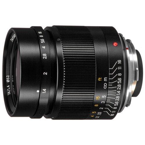 Объектив 7artisans 28mm f/1.4 Leica M черный
