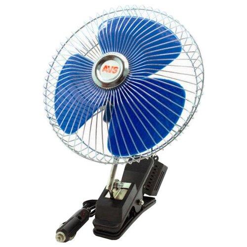 Автомобильный вентилятор AVS Comfort 8048, синий