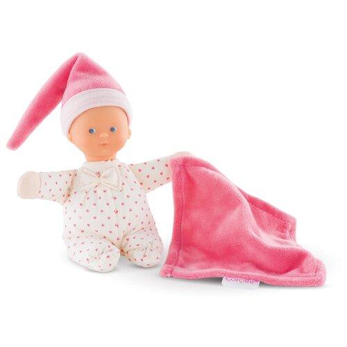 Пупс Corolle Minireve Розовое Сердце с ароматом ванили, 16 см, 9000030030