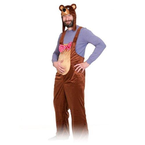 Фото - Взрослый костюм бурого медведя, размер 48-52. костюм бурого медведя размер 46 48 11715