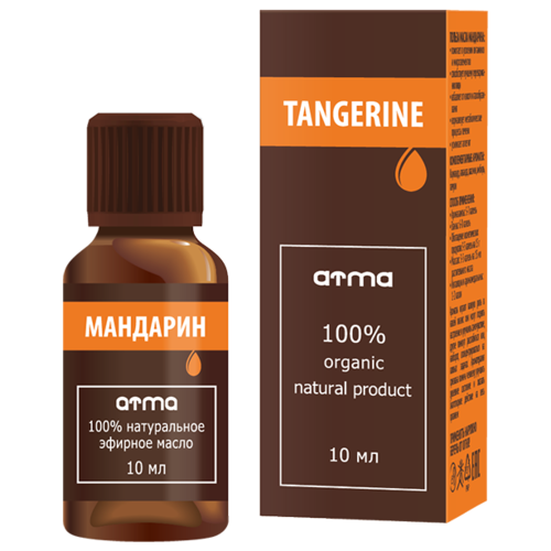 Эфирное масло ATMA Мандарина 10мл