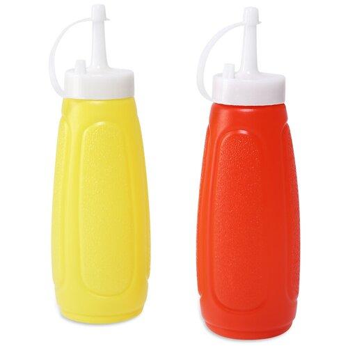 Фото - Бутылка для горчицы и кетчупа Dosh   Home IRSA 2 шт 101179 набор измерительных емкостей dosh home irsa 3 шт 101132
