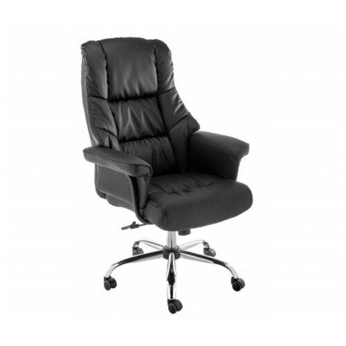 Фото - Компьютерное кресло Woodville Dom офисное, обивка: искусственная кожа, цвет: черный компьютерное кресло woodville rich офисное обивка искусственная кожа цвет коричневый