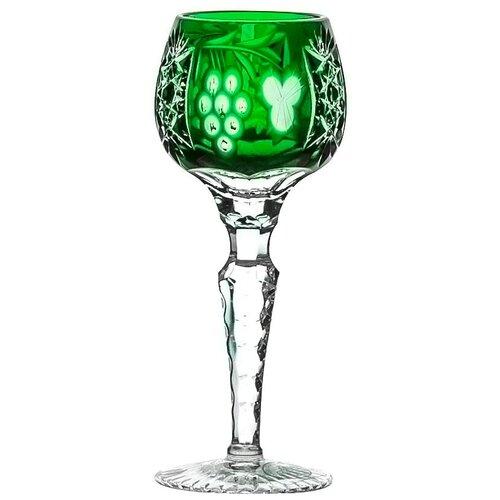 Рюмка Ajka Crystal Grape Emerald, 60 мл рюмка ajka crystal st louis reseda 70 мл