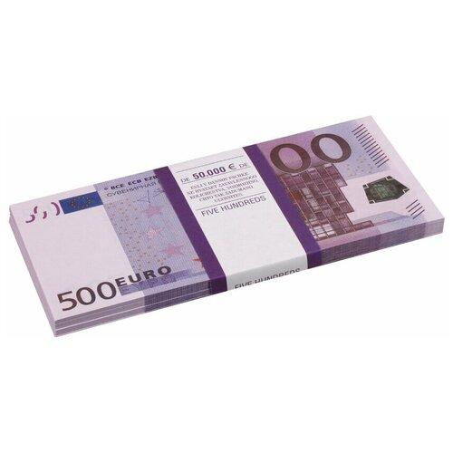Филькина Грамота Билеты банка приколов 500 евро, фиолетовый