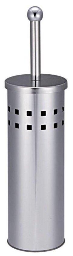 Купить Ершик туалетный My Space SW6708 серебристый по низкой цене с доставкой из Яндекс.Маркета