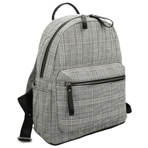 Сумка-рюкзак OrsOro, искусственная кожа, серый