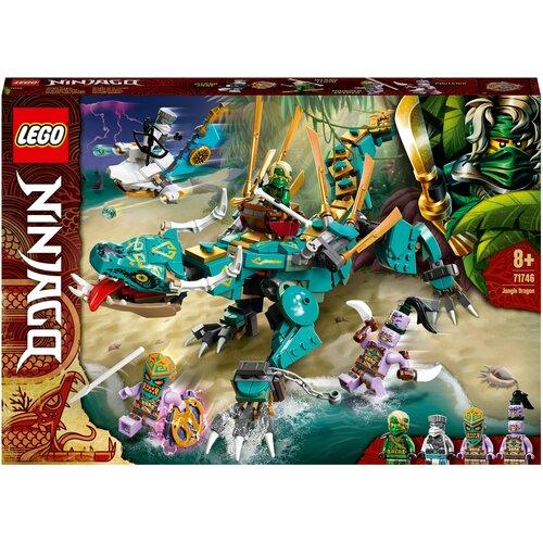 Фото - Конструктор LEGO Ninjago 71746 Дракон из джунглей конструктор lego ninjago 70599 дракон коула