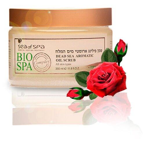 Купить SEA of SPA Скраб-масло для тела Bio Spa с ароматом Розы и минералами Мертвого моря, 350 мл (Израиль)