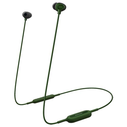 Беспроводные наушники Panasonic RP-NJ310, green беспроводные наушники panasonic rp htx20 black