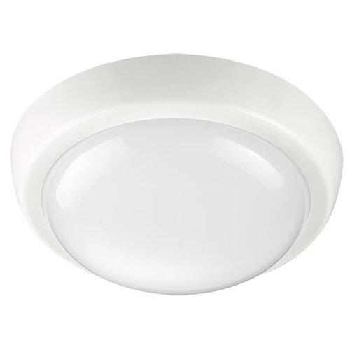 Novotech Уличный настенно-потолочный светильник Opal Led 357508, 24 Вт, цвет арматуры: белый, цвет плафона белый уличный потолочный светильник novotech 357505