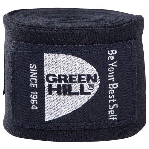 Кистевые бинты Green hill BP-6232d 4,5 м черный