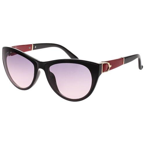 Солнцезащитные очки женские/Очки солнцезащитные женские/Солнечные очки женские/Очки солнечные женские/21kdgara1308403c3vr черный,розовый/Vittorio Richi/Кошачий глаз/модные